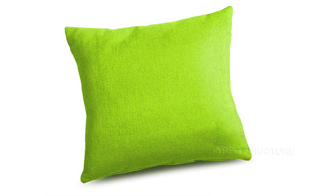Cushion in Lime