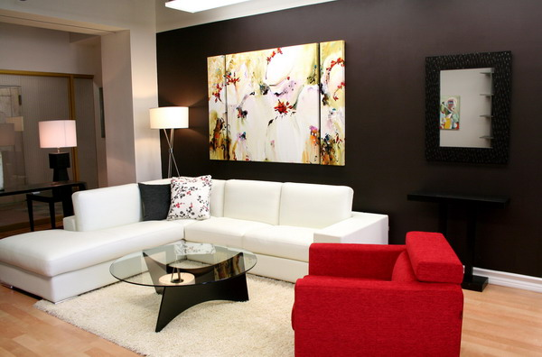 Learn how to use Red colour on just about any room