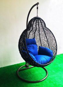 Modern Blue - Swing Chair