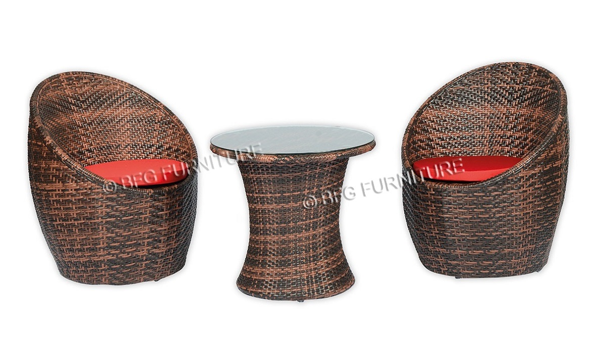 Bali Cooler - Red Cushions