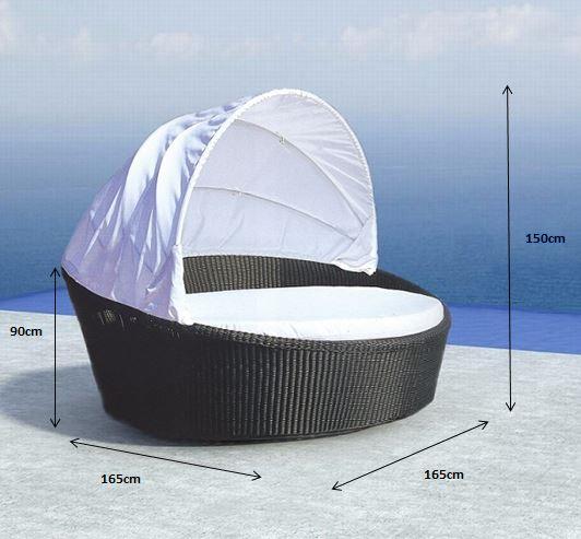 Cebu Day Bed Outdoor Furniture Bfg Furniture