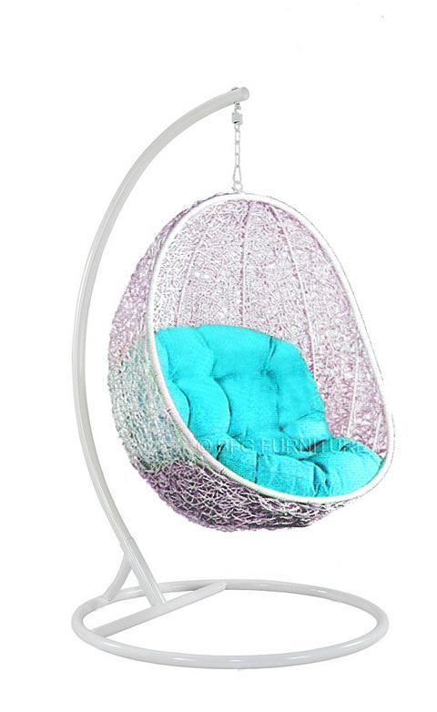 Fair Delphinium - Swing chair (White)
