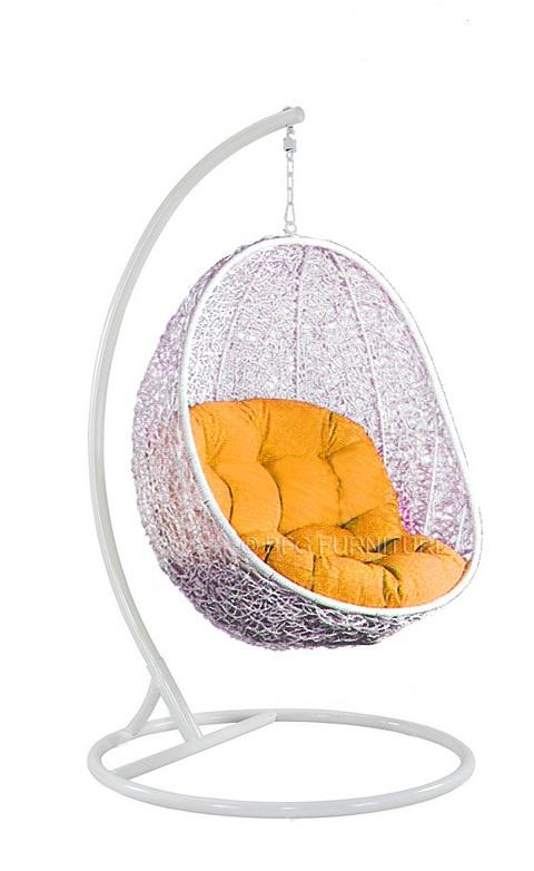 Fair Mustard - Swing chair (White)