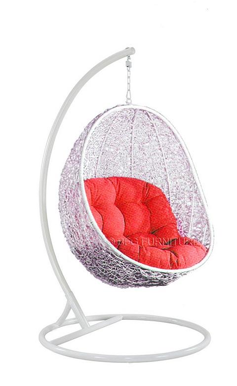 Fair Scarlet - Swing chair (White)