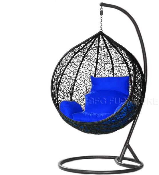 Classic Blue - Swing Chair (Black)
