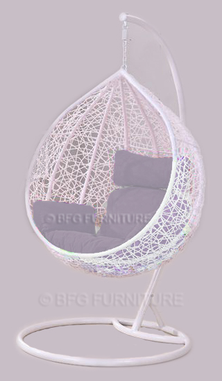 Classic Brunia - Swing Chair (White)