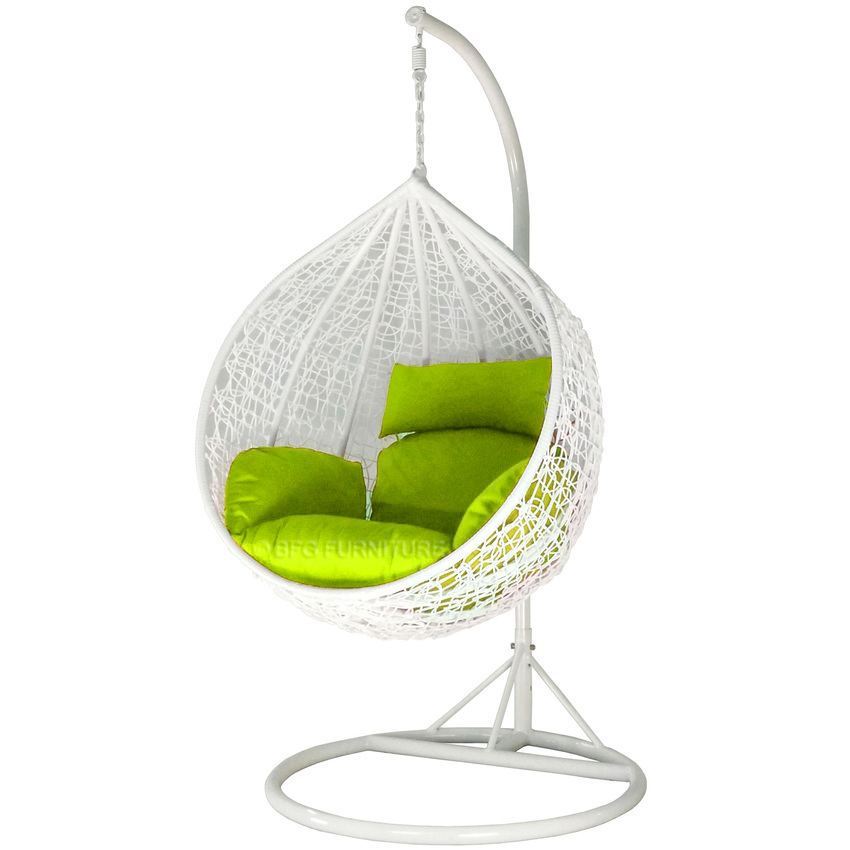 Classic Lime - Swing Chair (White)