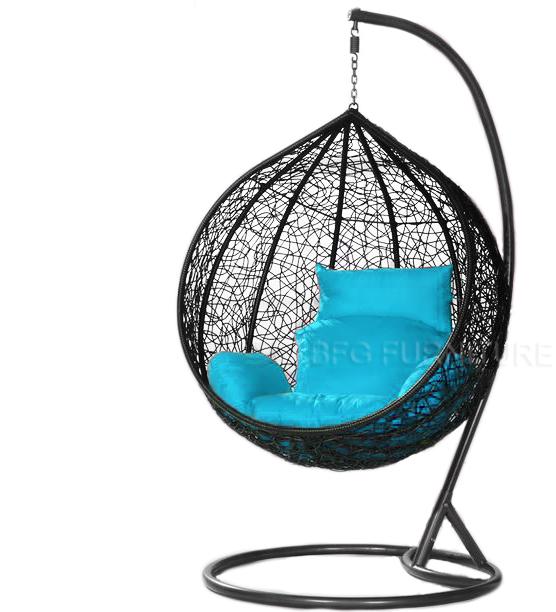 Classic Tiffany - Swing Chair (Black)