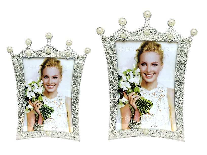 Royal Crown Photo Frame