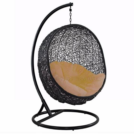 Fair Anise - Swing chair (Black)