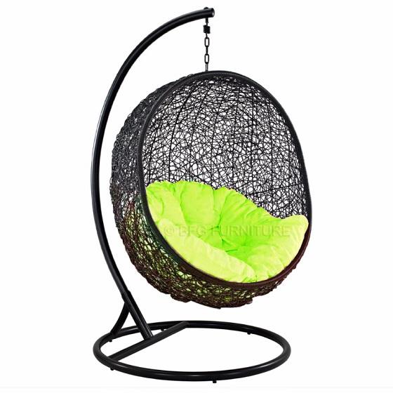 Fair Lime - Swing chair (Black)
