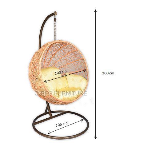 Modern Nest Swing Chair Outdoor Furniture Bfg Furniture