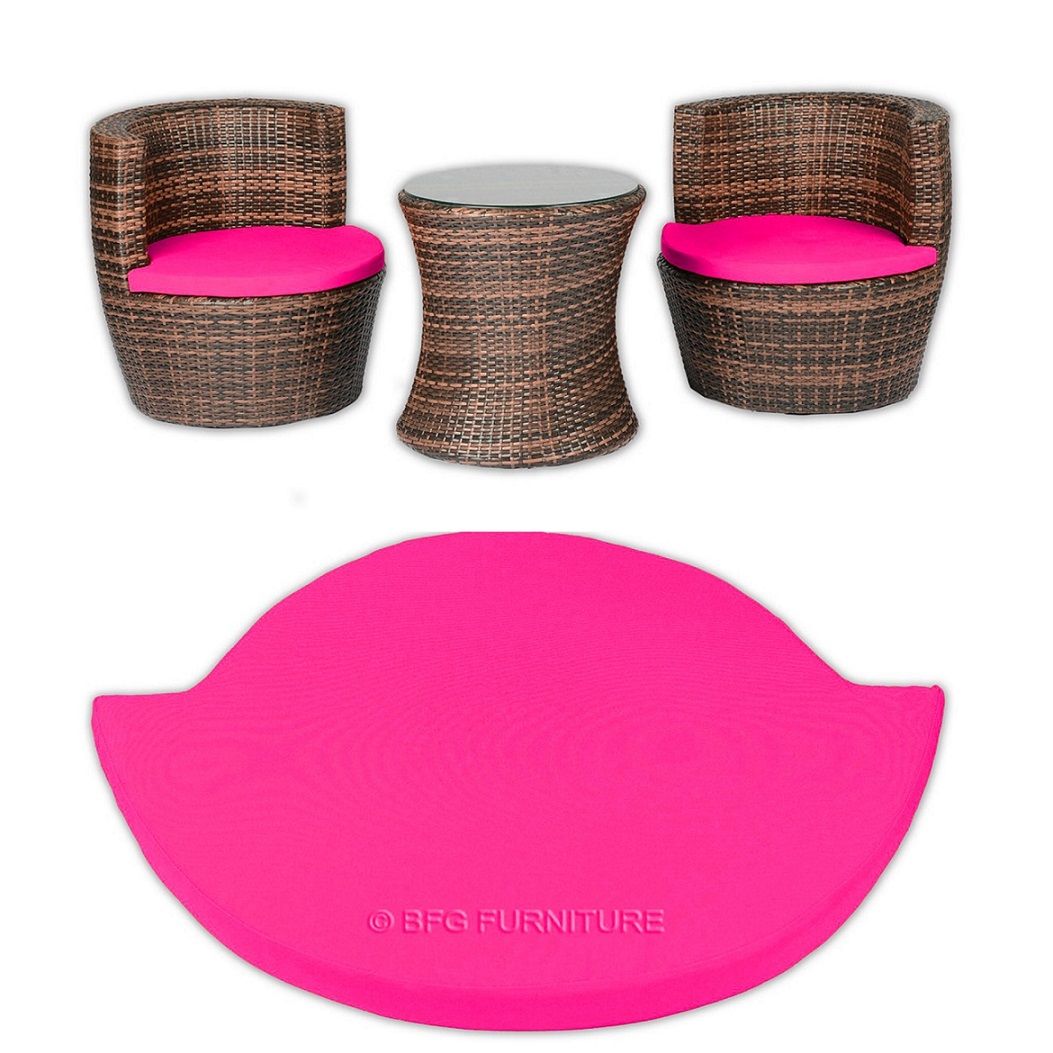 Stackable Cushions - Pink
