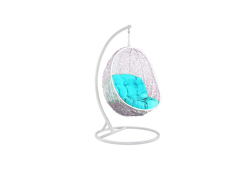 Swing Chair Fair White Frame