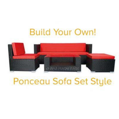 build your own bali style outdoor furniture bfg furniture. Black Bedroom Furniture Sets. Home Design Ideas