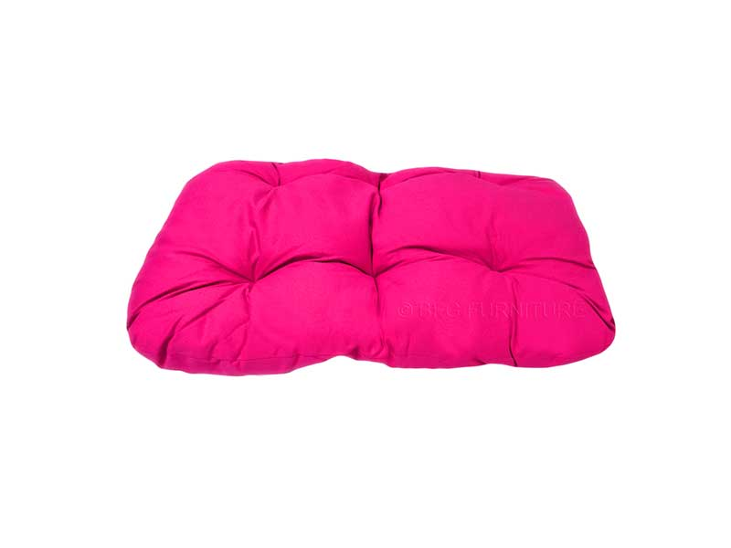 Outdoor Swing Bench Pet Cushion Fuchsia Outdoor Furniture Bfg