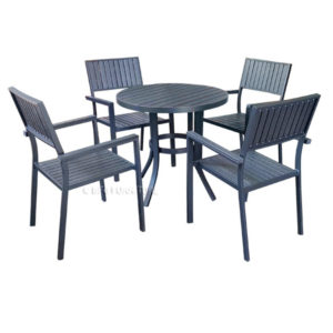 Finch 5 Piece Outdoor Dining Set