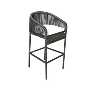 Monaco Rope Outdoor Bar Chair