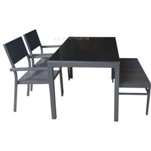 Plumeria 4 Piece Dining Set