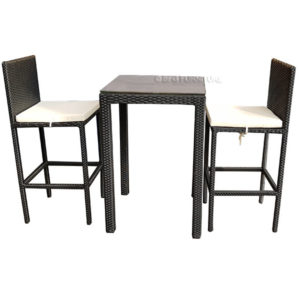 Capri 3 Piece Bar Set