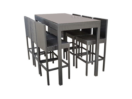 BFG-Ambrosia-Black-Dining-Set