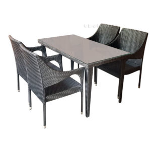 Mitella 5 Piece Dining Set