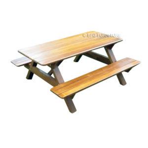 Garden Picnic Table Bench Set (5Ft)