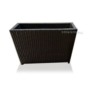 Horizontal Handwoven Planter Box L100 x W40 x H50cm