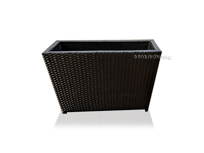 Horizontal Handwoven Planter Box L100 X W40 X H50cm Outdoor