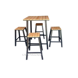 Freesia Stool Bar Set