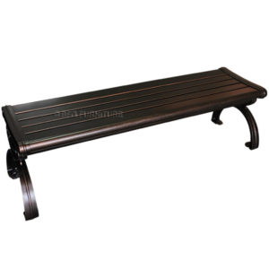 Outdoor Onyx Aluminium Picnic Bench