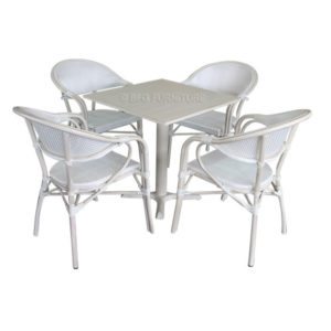 Desert Rose 5 Piece Dining Set