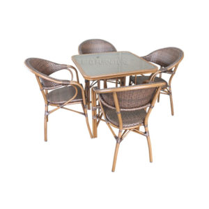 Sardonyx 5 Piece Dining Set